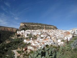Le charmant village de Chulilla