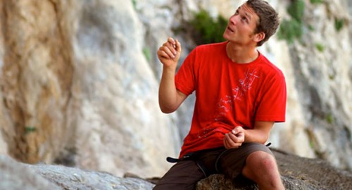 Simon Montmory - passionate climbing instructor
