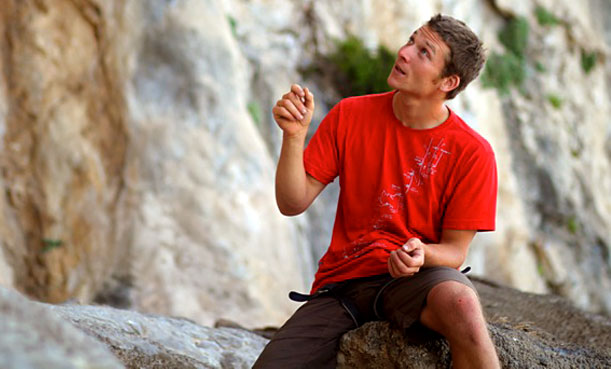 Simon Montmory - passionate climbing instructor