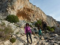 Climbing course in Kalymnos with Simon Montmory (5)
